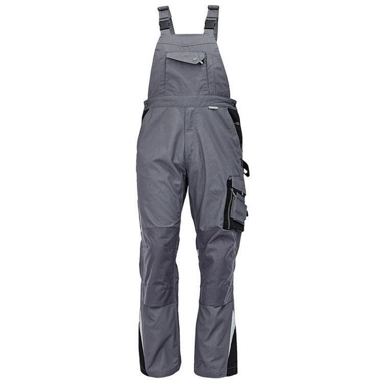 ALLYN spodnie ogrodniczki (kolor szary czarny) Cerva