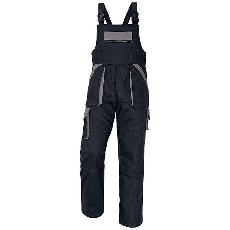 MAX spodnie ogrodniczki (kolor czarny szary) Cerva